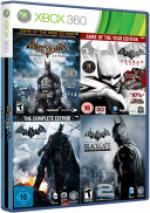 Batman 4 in 1 Collection [RGH/JTAG] [PL/ENG/RUS]