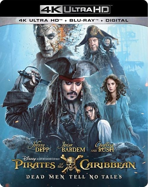 Piraci Z Karaibów: Zemsta Salazara- Pirates Of The Caribbean: Dead Men Tell No Tales (2017) [BluRay] [4K] [2160p] [HEVC] [H265] [Custom Audio AC3.DTS 5.1 PL] [Dubbing I Lektor PL] [Spedboy]