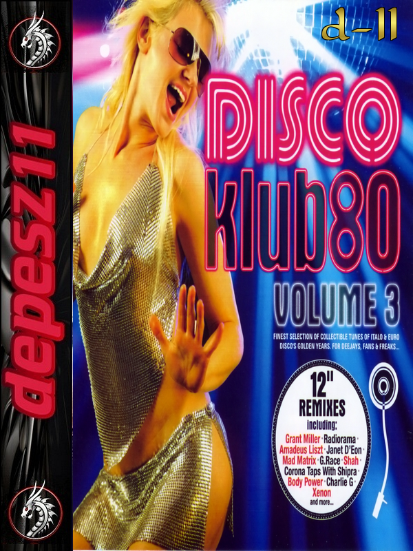 VA-Disco Klub 80 Vol.3 *2010* [mp3@320kbps] [2cd] [d-11]