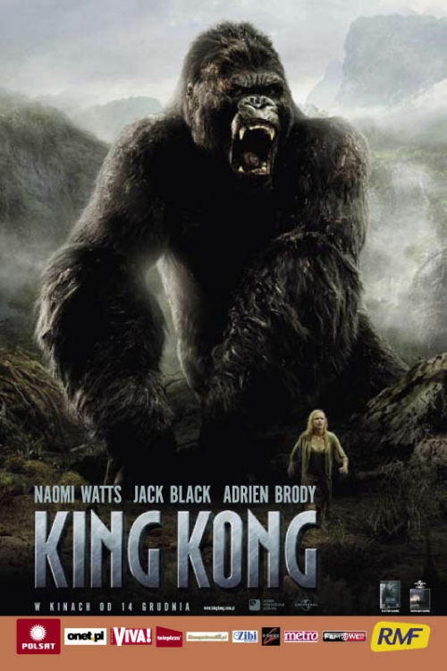 King Kong (2005) Extended & Theatrical [BRRip] [480p] [XviD] [AC3-LTN] [Lektor PL] [avi]  [FIONA9]