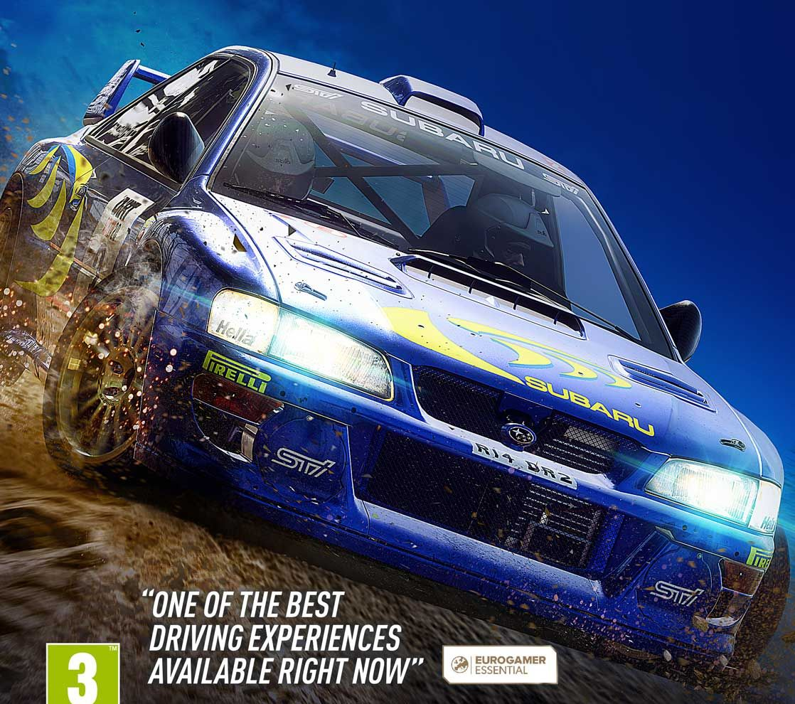 DiRT Rally 2.0. Colin McRae FLAT.OUT-CODEX [ENG]