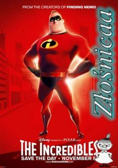 Iniemamocni - The Incredibles *2004* [DVDRip.x264-Złośnicaa] [Dubbing PL]