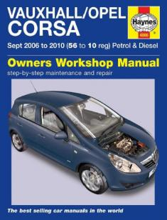 Owners Workshop Manual - OPEL CORSA D ENG [PDF] [ENGLISH]