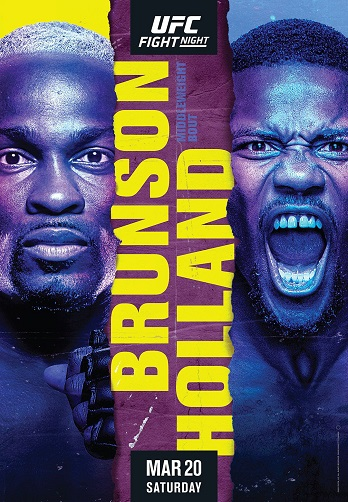 UFC Fight Night Brunson vs Holland Prelims [720p] [WEB-DL] [H264.Fight-BB] [ENG]