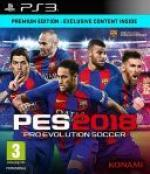Pro Evolution Soccer 2018 [EUR] [ENG] [PS3]