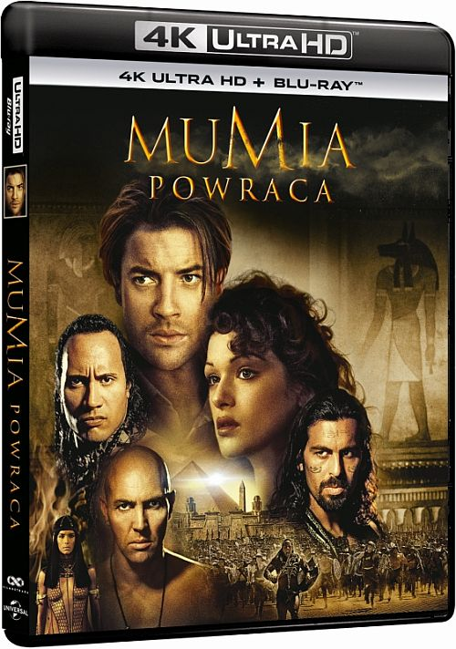 Mumia Powraca- The Mummy Returns (2001) [BluRay] [4K] [2160p] [HEVC] [H265] [Custom Audio DTS 5.1 PL] [Lektor PL] [Spedboy]