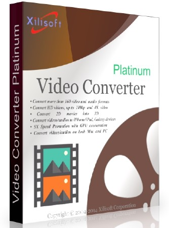 Xilisoft Video Converter PLatinum 7.8.25 Build 20200718 (x32x64)[EN] [Patch]