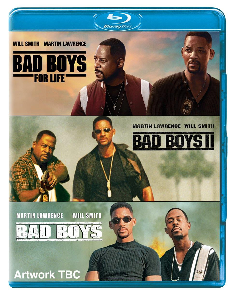 Bad Boys (Trylogia) [Trilogy] [1995-2020] [Custom Audio] [1080p] [BDRip.x264.AC3.DTS] [Lektor PL] [Spedboy]