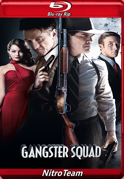 Gangster Squad. Pogromcy mafii - Gangster Squad *2013* [1080p.BluRay.H265.DTS.5.1-AC3.5.1-NitroTeam] [Napisy PL] [Lektor PL]