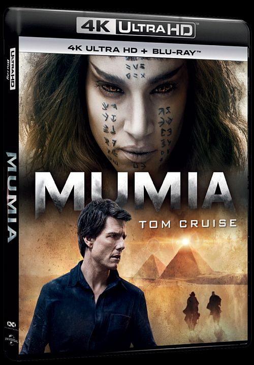 Mumia- The Mummy (2017) [BluRay] [4K] [2160p] [HEVC] [H265] [Custom Audio DTS 5.1 PL] [Lektor PL] [Spedboy]