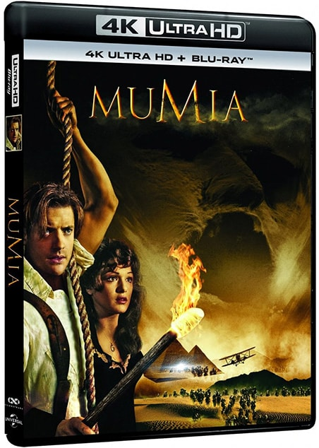 Mumia- The Mummy (1999) [BluRay] [4K] [2160p] [HEVC] [H265] [DTS 5.1 PL] [Lektor PL] [Spedboy]