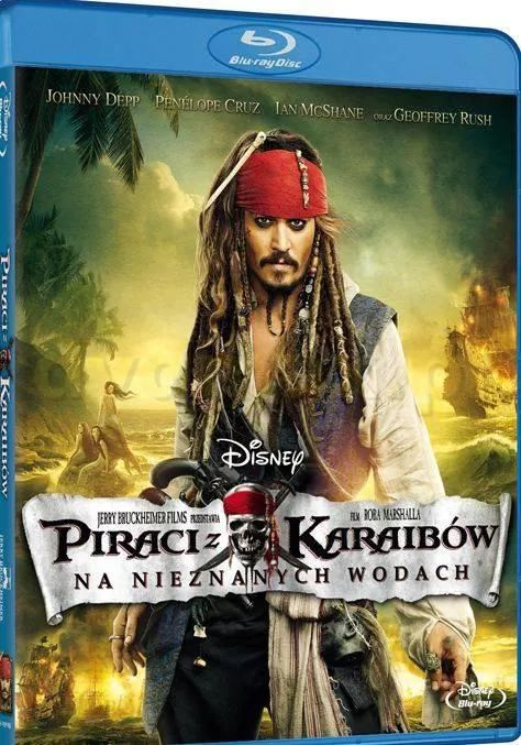 Piraci Z Karaibów: Na Nieznanych Wodach- Pirates Of The Caribbean: On Stranger Tides (2011) [WEB] [4K] [2160p] [HEVC] [H265] [Custom Audio DTS 5.1 PL] [Lektor PL] [Spedboy]