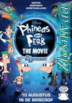 Fineasz I Ferb: Podróż W Drugim Wymiarze - Phineas And Ferb: The Movie: Across The 2nd Dimension *2011* [DVDRip.x264-Złośnicaa] [Dubbing PL]