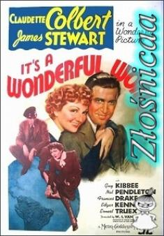 Ten Cudowny Świat - It's A Wonderful World *1939* [TVRip.x264-Złośnicaa] [Lektor PL]
