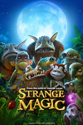 Dziwna magia / Strange Magic (2015) [480p] [BRRip.XviD] [AC-3] [Lektor PL]