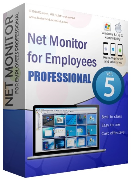 EduIQ Net Monitor for EmPLoyees Professional 5.6.38 [ENG] [Crack] [azjatycki]
