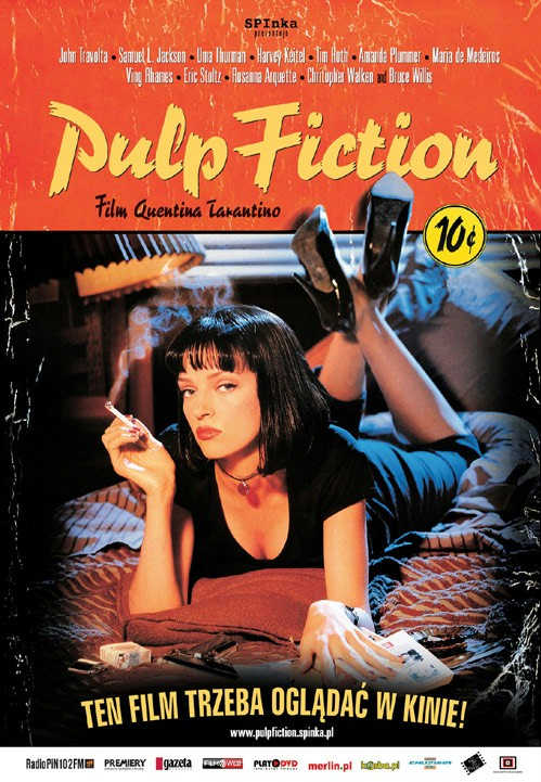 Pulp Fiction (1994) [BluRay] [1080p] [AVC] [H264] [AC3 5.1 PL] [Lektor PL] [Spedboy]