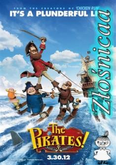 Piraci! - The Pirates! In An Adventure With Scientists! *2012* [DVDRip.x264-Złośnicaa] [Dubbing PL]
