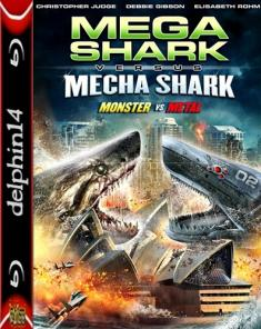 Starcie potworów - Mega Shark vs Mecha Shark *2014* [BRRip] [XviD-B89] [Lektor PL]