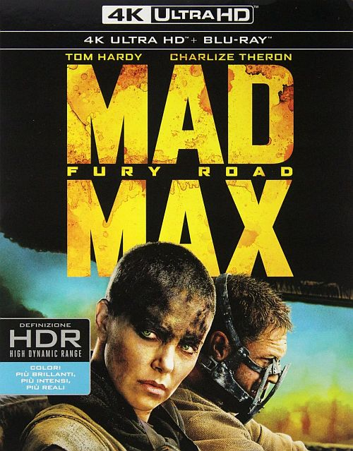 Mad Max: Na Drodze Gniewu- Mad Max: Fury Road (2015) [BluRay] [4K] [2160p] [HEVC] [x265] [Custom Audio DTS 5.1 PL] [Lektor PL] [Spedboy]