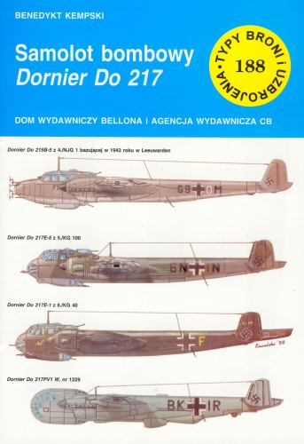 Dornier Do 217 - [TbiU 188] -  [TBiU 188] [PL] [rar] [LIBGEN]