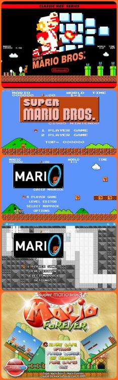 Super Mario Bros - Cztery Gry (1985-2012) [ENG] [PL] [.exe] [D.T]