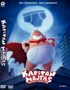 Kapitan Majtas: Pierwszy wielki film / Captain Underpants: The First Epic Movie (2017) [MULTi] [PAL] [DVD9-FOX] [Napisy i Dubbing PL]
