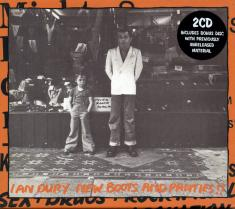 Ian Dury and The Blockheads - New Boots And Panties (1977; 2004) [FLAC]