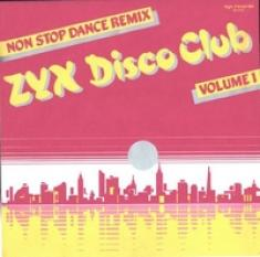(Italo-Disco) ZYX Disco Club vol. 1 (non stop dance remix-vinyl '86-)-(mp3 320kbps)