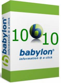 Babylon Pro 10.5.0.11 Retail [Multilingual] + Patch [d3rbu5]