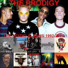 The Prodigy - The Studio Albums 1992-2015 (2015) [MP3@320kbps]