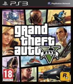 Grand Theft Auto V / GTA V (2013) [ENG/RUS] [PS3] [EUR] [iso]