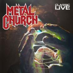 METAL CHURCH - CLASSIC LIVE (2017) [MP3@320] [FALLEN ANGEL]