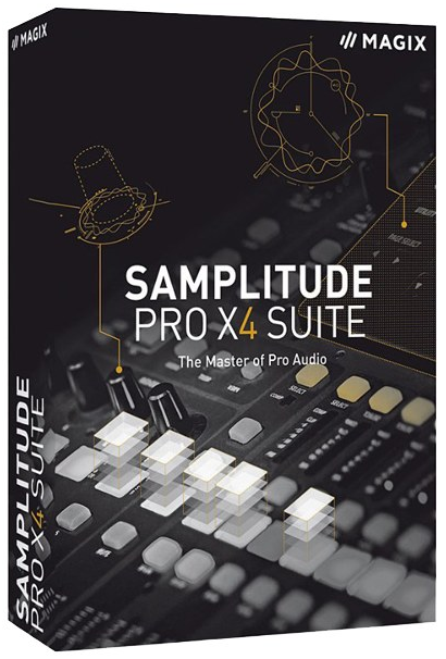 MAGIX SamPLitude Pro X5 Suite 16.0.1 Build 28 - 64bit [ENG] [Crack] [+Upate Patch] [azjatycki]