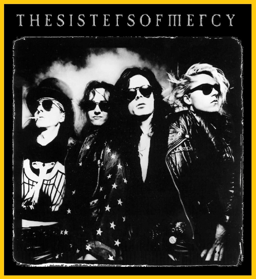 The Sisters Of Mercy - Vinyl Collection (1985-1993) [Flac-24bit]