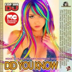 Various Artists - Did You Know!*2015* [mp3@320kbps]