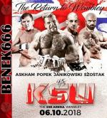 Gala KSW 45 - The Return to Wembley *2018* 06.10.2018 [Cała Gala] [720p] [PPV-HDTV] [x264] [AC3-B666] [PL]