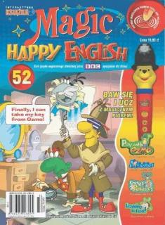 Magic Happy ENGlish 52 [RAR->PDF] [PL]