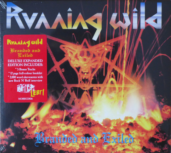 RUNNING WILD - BRANDED AND EXILED (1985/2017) [WMA] [FALLEN ANGEL]