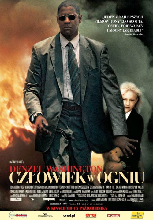 Człowiek W Ogniu- Man On Fire (2004) [Custom Audio] [1080p] [BDRip.x264.DTS] [Lektor PL] [Spedboy]