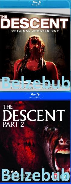 Zejście - The Descent DUOLOGY (2005-2009) [480p] [BDRip/BRRip.XviD.AC3-ELiTE] [Lektor PL]