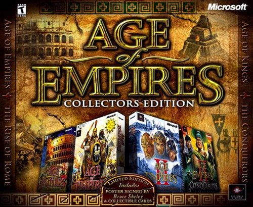 Age of Empires 1 i 2 Collector's Edition PL [ISO]
