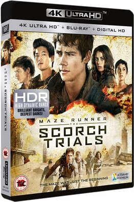 Maze Runner - The Scorch Trials -  La Fuga (2015) [Bluray 2160p 4k UHD HDR10 HEVC ENG DTS-HD MA 7.1 MultiLang DTS 5.1- ENG Esp Ac3 5.1 - Multisubs]