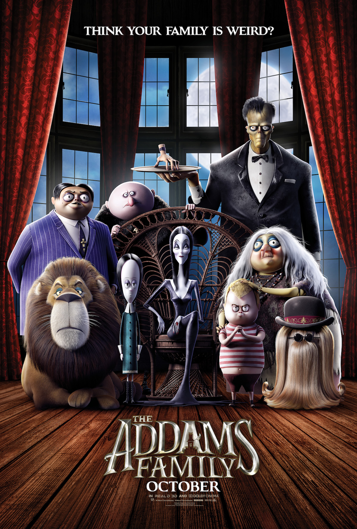 Rodzina Addamsów / The Addams Family (2019) [480p] [BRRip.XviD-LTN] [AC-3] [Dubbing PL]