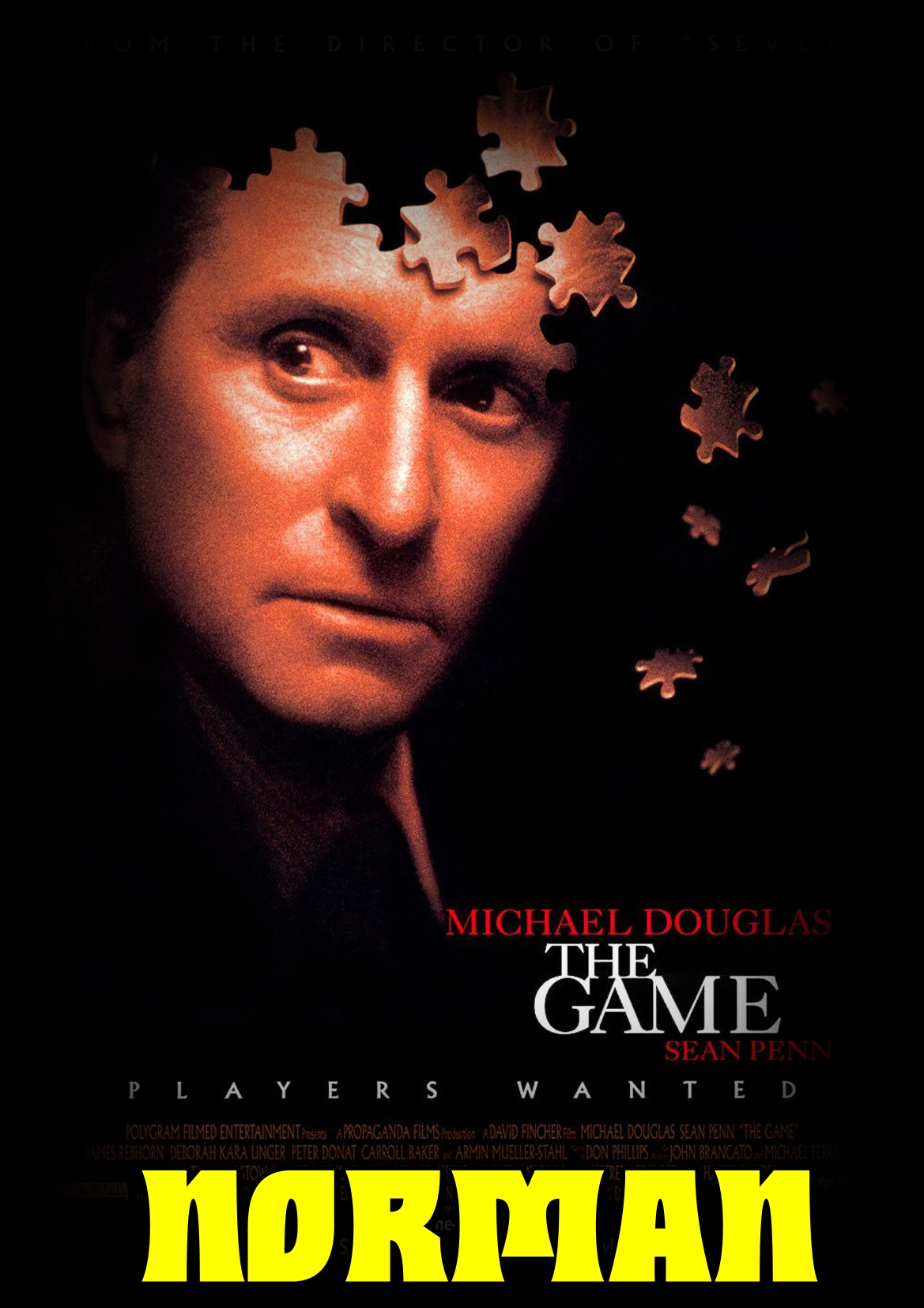 Gra / The Game (1997) [1080p] [BRRip] [XviD] [AC3-Norman] [Lektor PL]