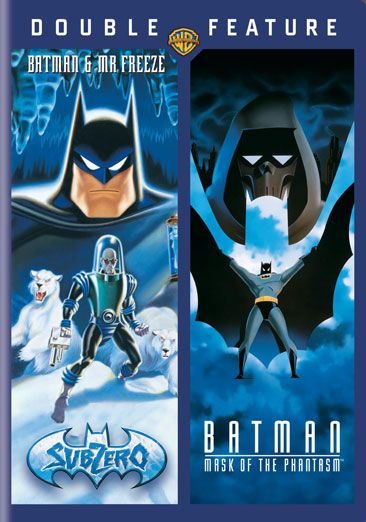 Batman - Maska Batmana (1993) - Batman i Mr. Freeze - SubZero (1998) [480p] [Double Feature] [Dubbing PL]