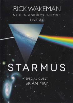 Rick Wakeman And The ENGlish Rock Ensemble - Live At Starmus (with Brian May) (2016) [DVD9]