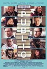 Nieposłuszni / The Public (2018) [480p] [BRRip] [XviD] [AC3-MORS] [Lektor PL]