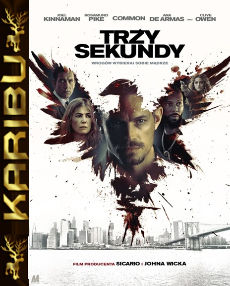 Trzy Sekundy - The informer *2019* [BDRip] [XviD-KiT] [Lektor PL] [Karibu]