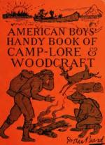 The American Boys' Handybook of Camp-Lore and Woodcraft by Daniel Carter Beard 1920 [ENG] [pdf]